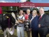 "2016 DIAGEO BAILEYS CHAMPION COW WINNER IS Hallow Advent Twizzle 3  Co. Wexford breeders Philip and Linda Jones win the Diageo Baileys® Irish Dairy Champion Cow 2016 with their cow Hallow Advent Twizzle 3.  [24th August 2016]: Diageo, the company behind the world's top selling liqueur brand, Baileys, has ended this year's search for Ireland's finest Holstein Friesian dairy cow with Hallow Advent Twizzle 3 crowned the Diageo Baileys® Irish Champion, owned by Philip and Linda Jones from Killowen Gorey, Co. Wexford. The competition took place at the Virginia Agricultural Show in Co. Cavan, home to Diageo's cream supplier, Glanbia Ingredients Ireland Virginia who co-sponsor of the event. The competition which dates back to 1983 rewards strength and form in body conformation as well as proven excellence in quality milk production. According to this year's judge Kevin Wilson, ""They were tremendous cows, the standard was very high. They would grace any show in the world.""  Evergreen Duplex Ebony owned by Liam and Sandra Murphy from Co. Carlow was declared Reserve Champion. Honourable Mention went to Patrick Colton from Co. Monaghan for his cow Ardnasalem Baltimore Robin. Other prizes were awarded in specialist categories for breeders that travelled to Virginia from as far afield as Co. Antrim and Co. Cork to compete. These included: Best Heifer in Milk winner, Garry Hurley from Co. Wicklow, Best EBI winner, James and Tom Kelly from Co. Louth, and Best Protein Winner, Mike Magan, from Co. Longford as well as Best Dry Cow Winner, John Barrett from Co. Cork.  Widely acknowledged as Ireland's top dairy livestock event, attracting the super-elite of the Holstein Friesian breed, the top awards in the €10,000 prize fund were presented by  Minister for Arts, Heritage, Regional, Rural and Gaeltacht Affairs, Heather Humphreys T.D., alongside Breffni O'Reilly, Quality Director for Diageo Ireland and Glanbia Ingredients Ireland Ltd. Chairman Henry Corbally. Speaking afterwards at the winners' reception, Hazel Chu Diageo Ireland's Head of Corporate & Trade Relations said that Diageo's production bases for Baileys in Dublin and Mallusk ""relied on a top quality cream supply and that the competition was an opportunity to reinforce the provenance of Baileys and the quality of its primary raw ingredient."" Also speaking at the event, Chairman of Glanbia Ingredients Ireland, Henry Corbally praised all the entrants for the calibre of pedigree cows on display and he congratulated the Virginia Show on its 75th anniversary."