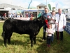 Senior stockman winner was Shane Hynes (Athlone) with young sister Molly, Judge Gene McCann and steward Andrew Farrelly