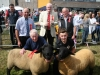 Champion Pedigree Pairs winners Seamus and Christopher Kerr (Emyvale) with judges Martin Joyce, Norbert Coyle and James Rooney