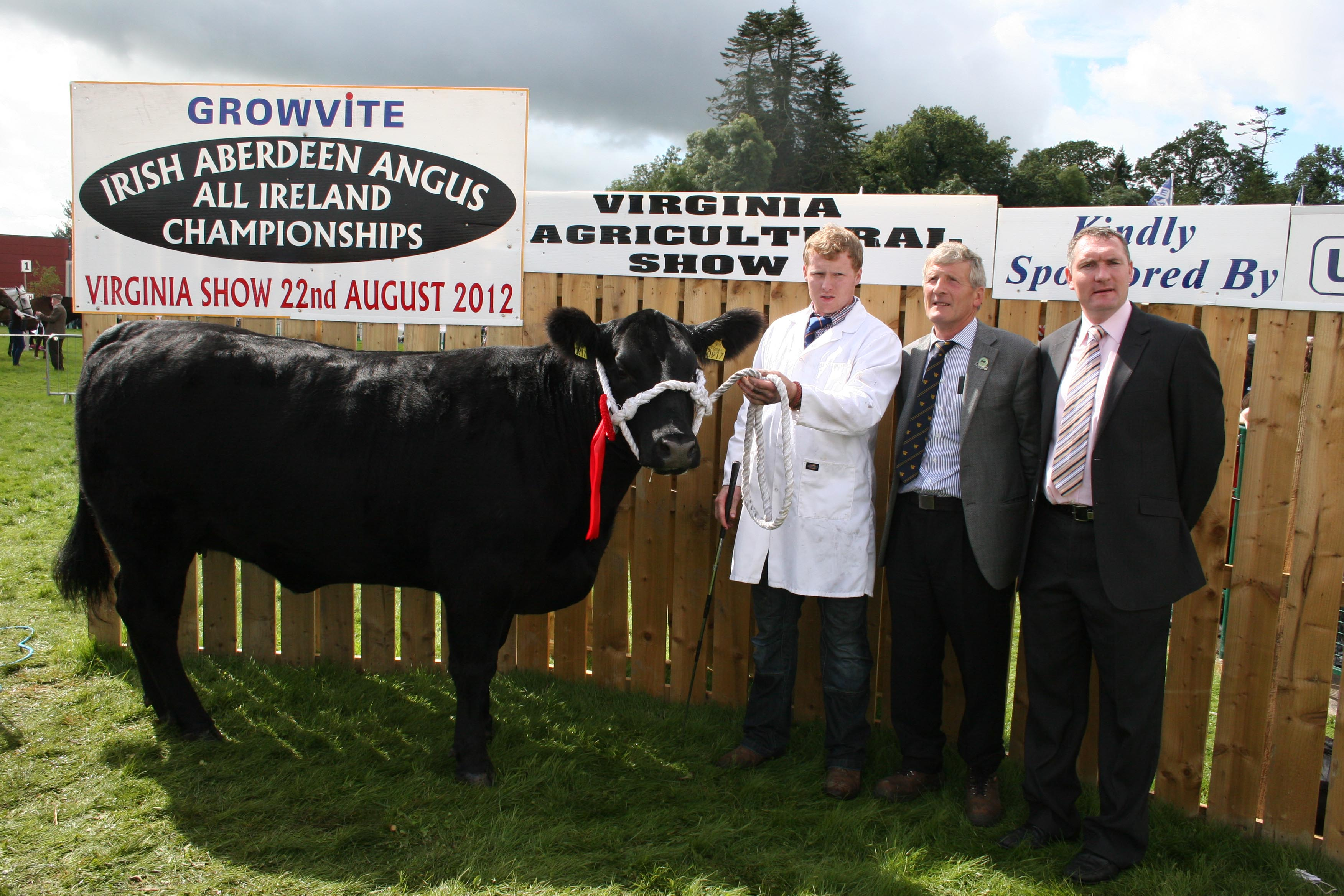 Class 22 winner was James McEnroe with Louis Byrne (Pre. IAA Association) and Mark O`Rourke (Uni-Vet)