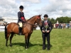 Champion Pony was won by Lucinda Mills (Lisbellow) receiving her cup from judge Danny Molloy