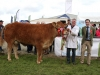 Over-all Limousin Champion was won by William Smith (Millbrook, Oldcastle) with jusge James Callion (Omagh)