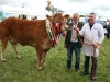 Inter-Breed Champion winner was William Smith (Oldcastle) with judge Joe Hallinan (Clare)