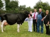 Champion Dairy winner at Virginia Show was Kenny Boyd (Glaslough) with Elenor o`Neill, Pat Shields (Lakeland Dairies-sponsor) and judge Kathleen Kelly